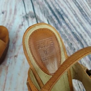 Frye Shoes - Frye Alexa Criss Cross Wedge Sandal Size 8